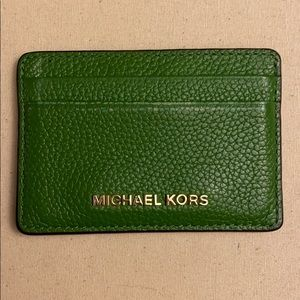 Michael Kors Card Case Slim Wallet